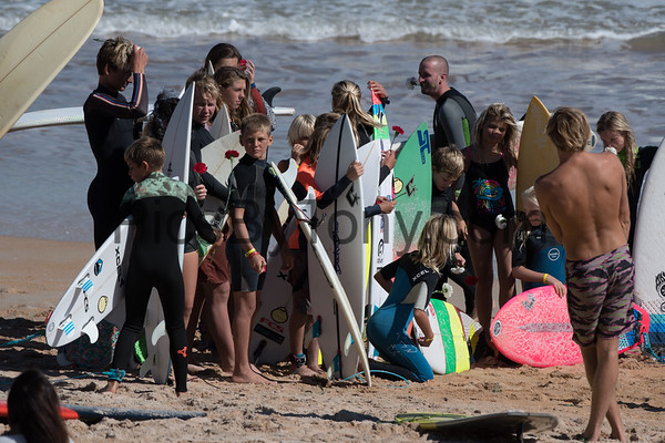 Paddle Out - Tommy Tant Surf Contest