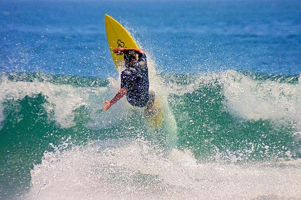 Surfer, Surfrider Beach, Malibu.