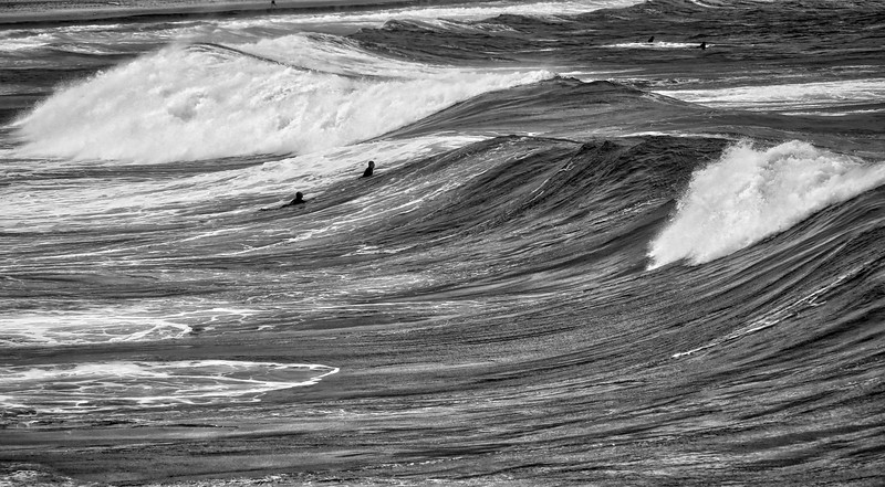 Bondi Beach Moody Waves