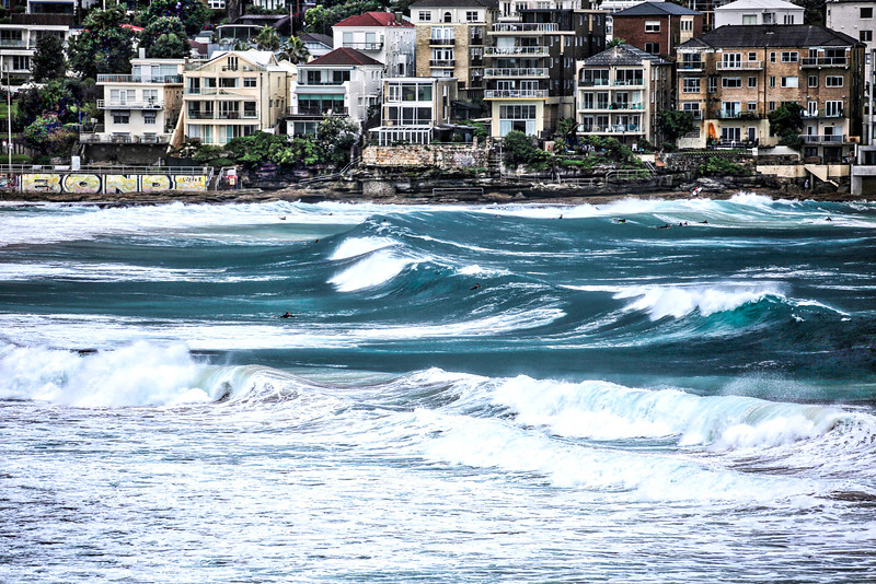 Bondi Beach Big Waves