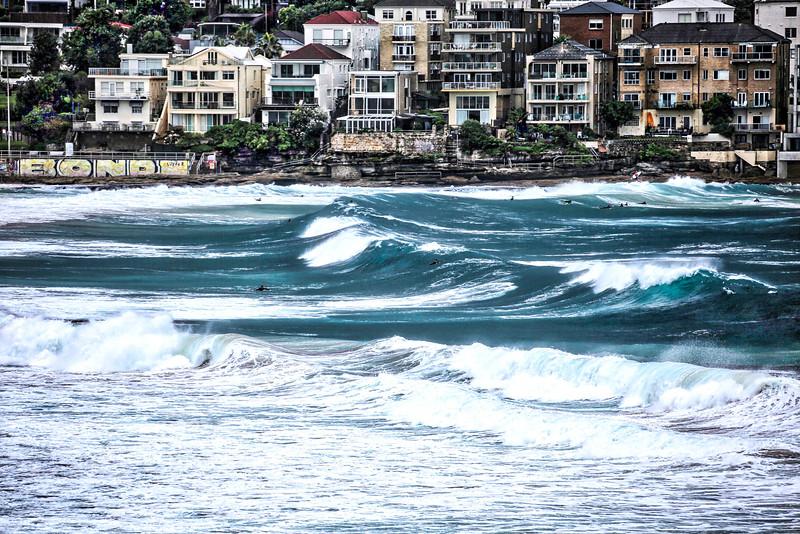 Bondi Beach Big Waves