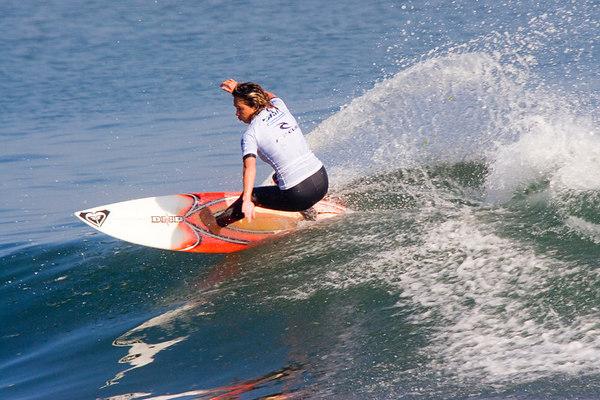 Maria Tavares, Malibu Rip Curl Pro, 2005.