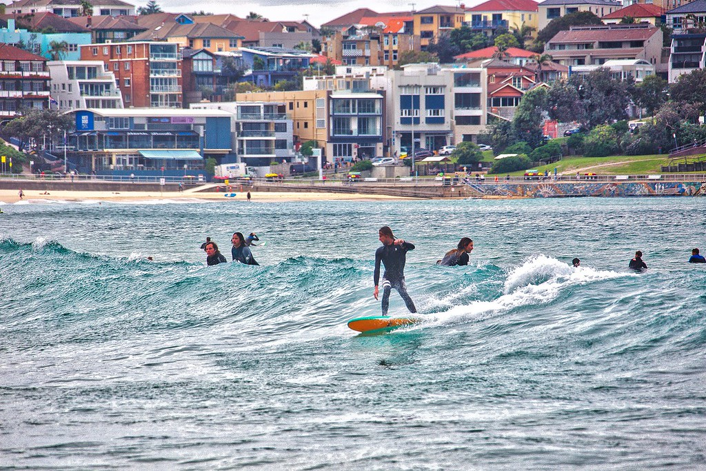 Bondi Beach - Surfing 0025