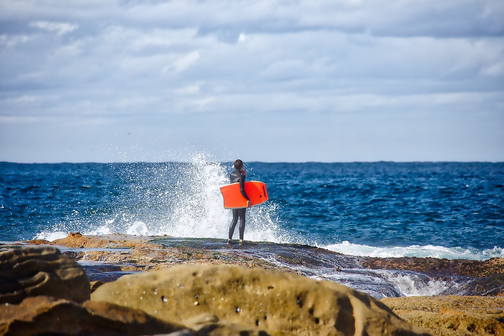 Watching and Waiting - Maroubra Beach