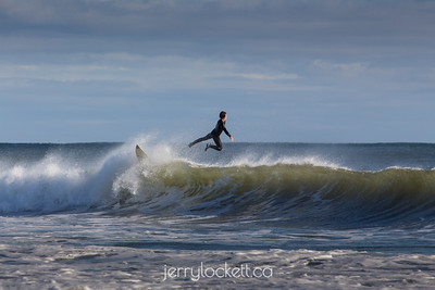 Surfer, Lawrencetown Beach, Nova Scotia