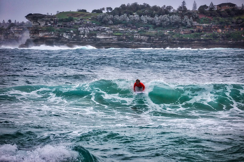 Bondi Beach - Winter Waves 004