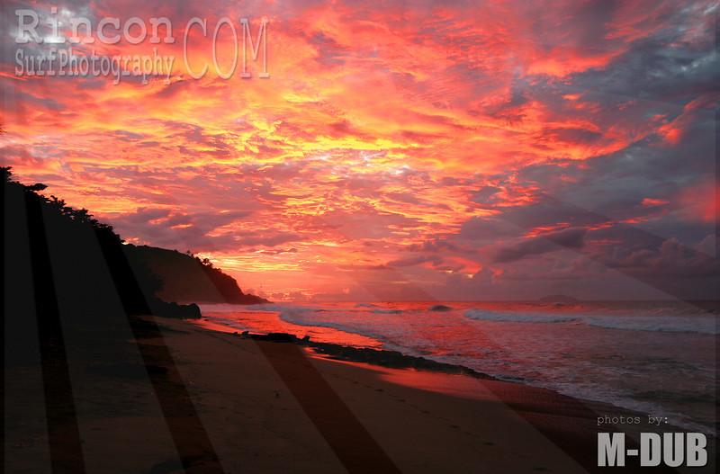 Puerto Rico Sunset.