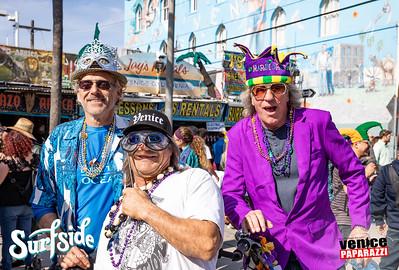 Venice Beach Mardi Gras at Surfside Venice.  Photo by VenicePaparazzi.com