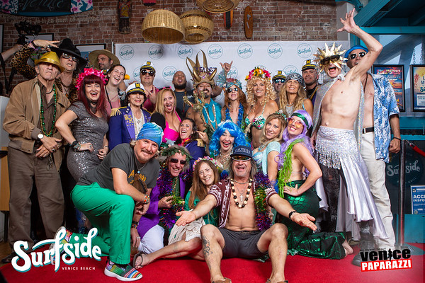 Surfside's 2 Year Anniversary party and Venice Beach Neptune Parade