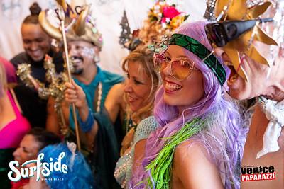 Venice Beach Neptune Parade / Surfside's 2 Year Anniversary.  SurfsideVenice.com  © VenicePaparazzi.com