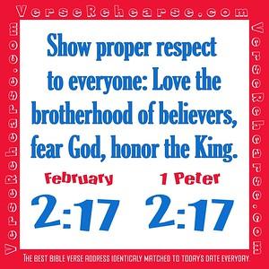 Verse Rehearse February