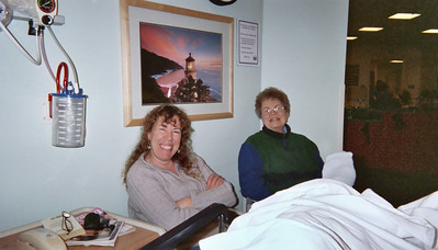 """And """"BANG"""", I woke up feeling alert and fresh, not even a case of cotton mouth with the camera on my lap, so I took a picture of my Sister and Mother, waiting paitently."""