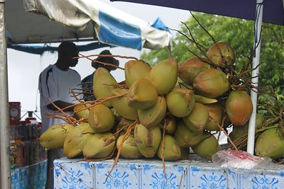 ook de kokos is net als bij ons thuis