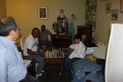2 aug 2010 in de Allamanda hereniging met de entrenador
