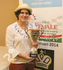 bron : facebook - Ingrid MoesanCarla Heredia ongeslagen kampioen