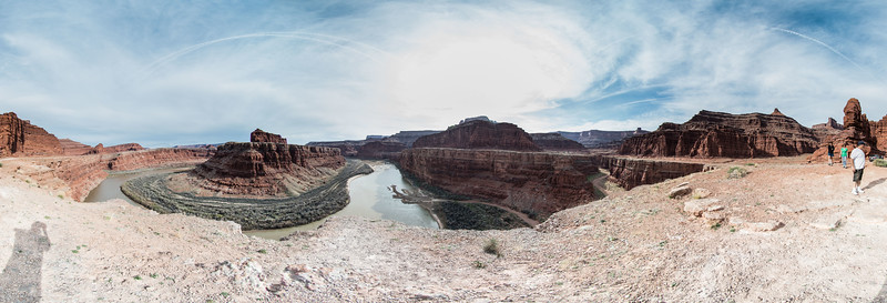Colorado River bottom of Dead Horse Point