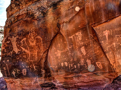 Birthing Scene Rock Art