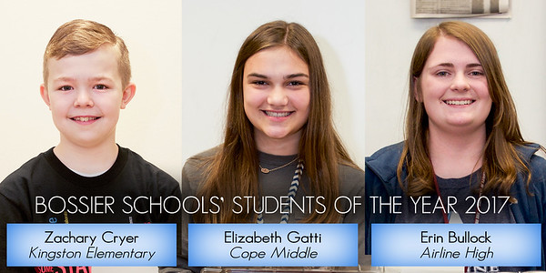 Students of the Year - District Winners 2017