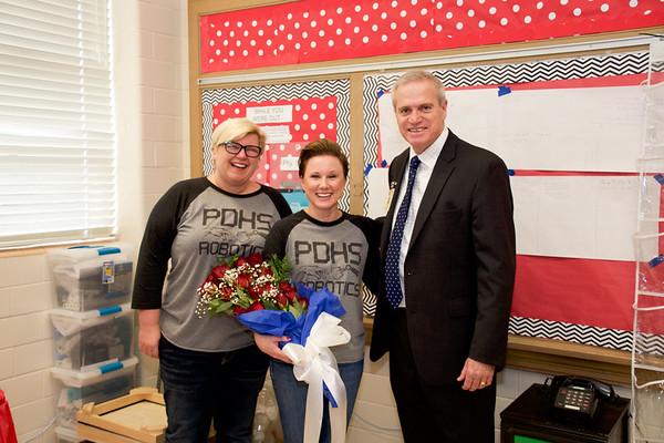 Teacher of the Year - Plain Dealing High 2017