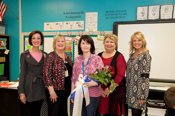 Teachers of the Year - District Winners 2017