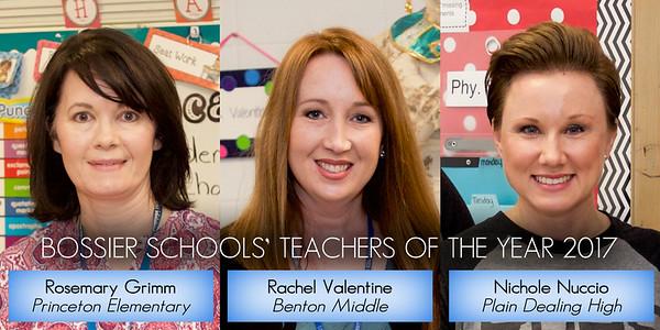 Teachers of the Year - District Headshots 2017