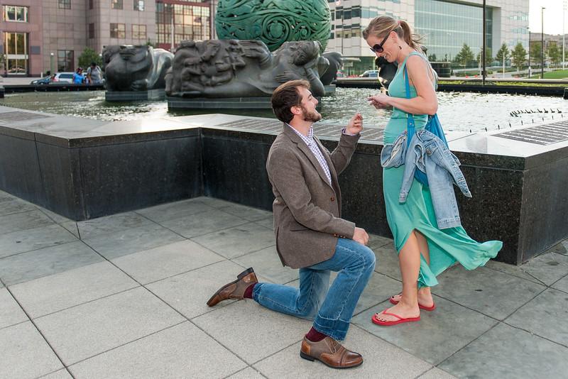 Sept. 20, 2014 Aaron & Sara Surprise Marriage Proposal