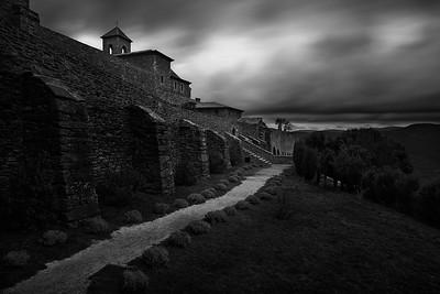 Monastery at Dusk
