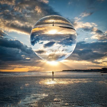 St Leonards On Sea - Reflection 2