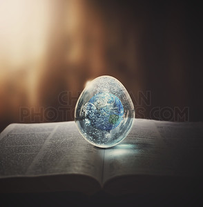 Earth in an egg