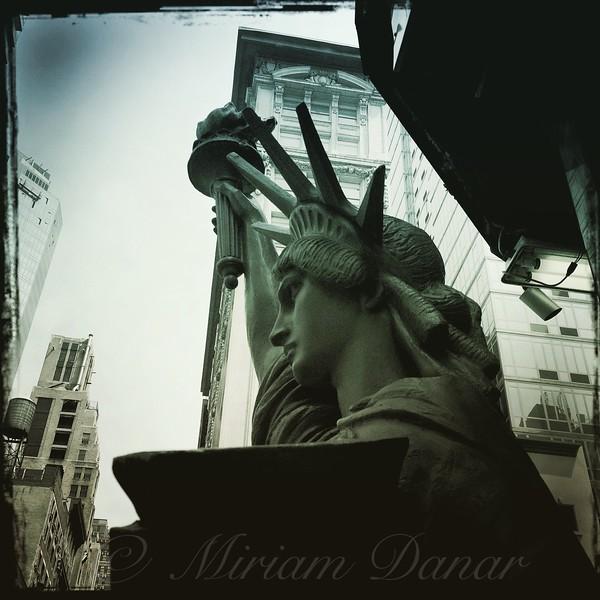 Lady Liberty Takes Midtown - tint