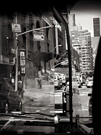 Through the Window  - A Drive Through NYC