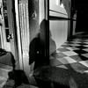 Shadow Girl In Doorway