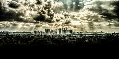 A Break in the Clouds over Zona Oeste