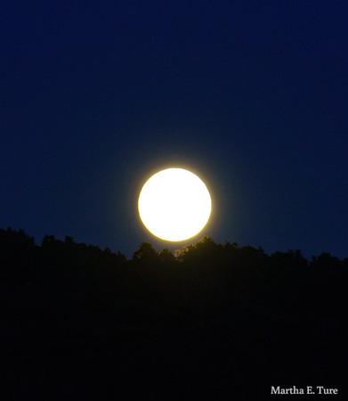 Moonrise, Drake's Estero