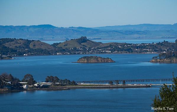 San Francisco Bay and Richmond-San Rafael Bridge