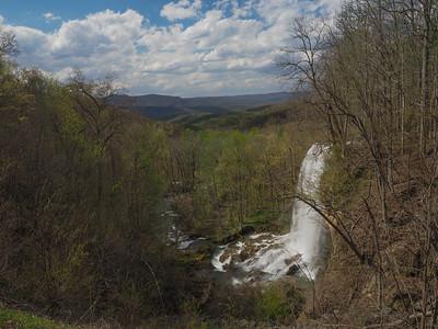 Falling Springs Waterfall