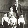 (L-R) Hrant Norsigian, Makrouhi Norsigian, Mary Vartanian, Nishan Norsigian, Vahram Norsigian