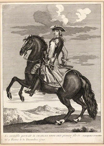 NPG D34709; Prince Charles Edward Stuart