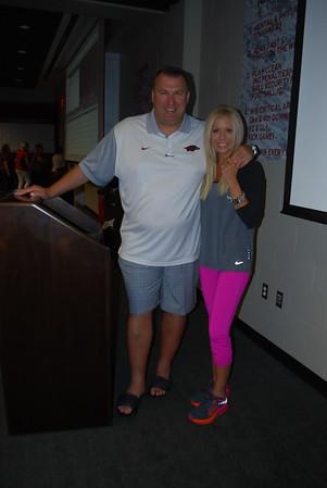 Coach Bret and Jen Bielema2