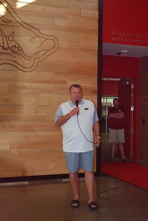 Coach Bret Bielema3