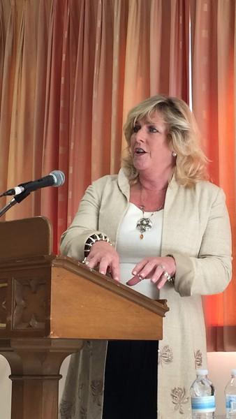 Susan Osman at Holy Trinity Church, September 30, 2018