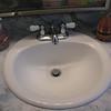Here's its new sink.