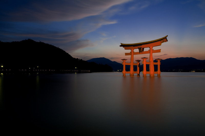 Floating Torii of Itsushima Shrine - Miyajima