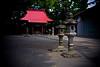 stone lanterns - Zama