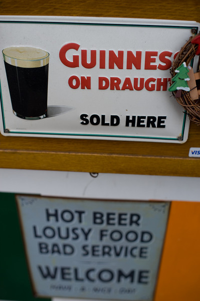 I can live with the conditions, they do after all serve Guinness - Nakano
