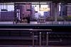 Shinkansen platform - Kyoto station