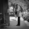 Woman praying - Hongakuji