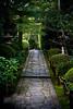 Quiet garden path - Kyoto