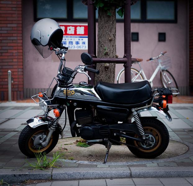 Cool little Suzuki bike - Yokosuka