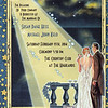 """Zazzle invitation to an """"Old Hollywood-style"""" black tie optional wedding"""